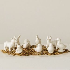 Other - Cute Miniature Ceramic Farm Animal Figurine Set